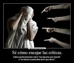 encajar criticas 2